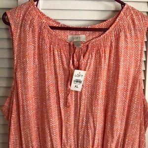 Dresses - Nwt beautiful Loft dress size XL